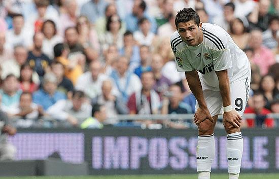 Ronaldo no estuvo fino ante el Tenerife