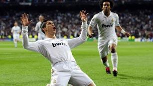 Ronaldo repite con el segundo para el Real Madrid (2-0)