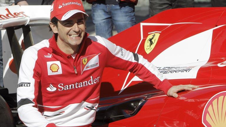 De la Rosa, encantado de estar en Ferrari
