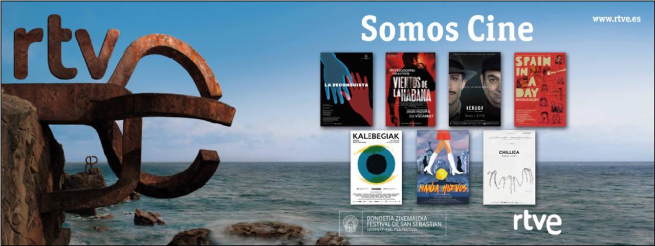 RTVE presente, un año más, en el Festival de Cine de San Sebastián