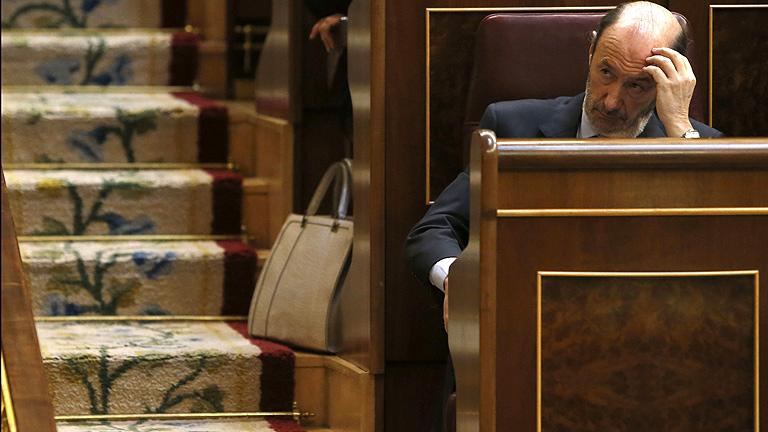 """Rubalcaba: """"Los presupuestos son económicamente ineficaces y socialmente injustos"""""""
