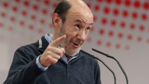 """Rubalcaba ve """"insólito"""" que no se celebre el debate del estado de la nación"""
