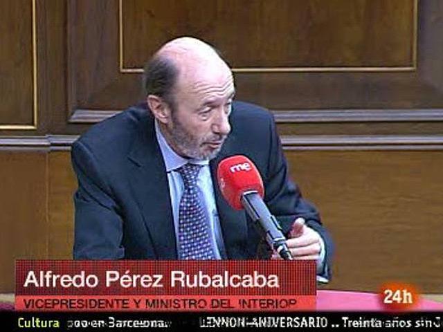 Rubalcaba habla de ETA, Wikileaks y su vida política