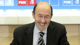"""Ver vídeo  'Rubalcaba: """"Hoy es un buen día para el PSOE""""'"""