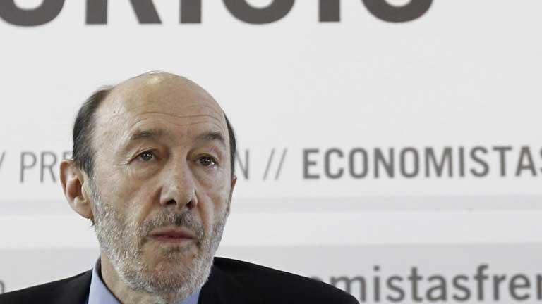 Rubalcaba asegura que España necesita un plan de crecimiento