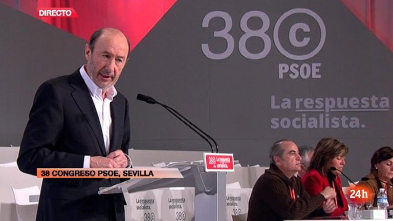 """Rubalcaba: """"Solo he oído llorar a Zapatero por el fin de ETA"""""""