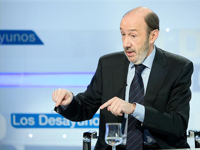 "Rubalcaba: ""Yo no hago guerra sucia dentro de mi partido"""