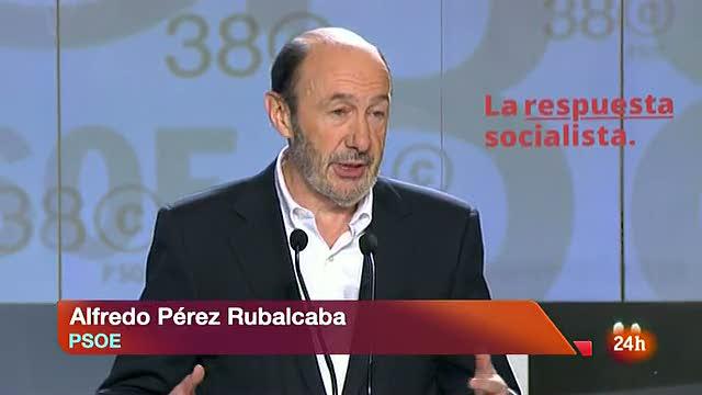 """Rubalcaba: """"Yo quiero a mi partido"""""""