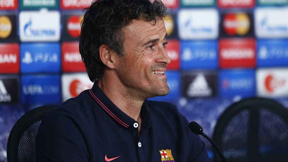 Champions League - Rueda de prensa del Barcelona