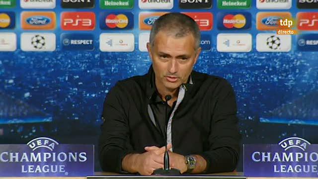 Rueda de prensa de Mourinho tras la eliminación en semifinales de la Champions League ante el Bayern de Múnich