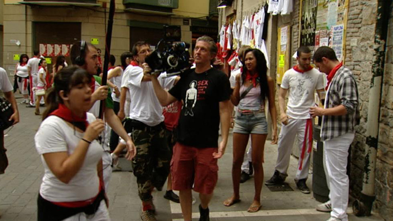 Ruedan un documental de los San Fermines