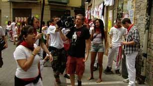 Ruedan un documental de los San Fermines