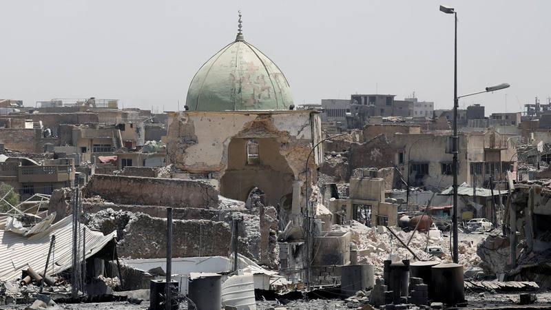 Las tropas iraquíes reconquistan la simbólica mezquita de Mosul donde el Dáesh proclamó su califato 1498731560853