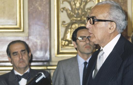 Joaquín Ruiz Giménez, el primer Defensor del Pueblo, ha fallecido hoy a los 96 años