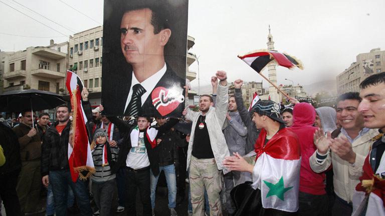 Rusia permanece como el principal valedor de Asad, cada vez más aislado