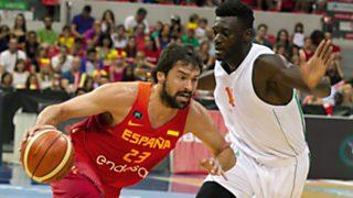 Baloncesto - Ruta Ñ masculina: España-Costa de Marfil