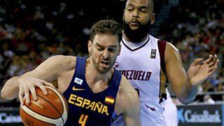 Baloncesto - Ruta Ñ masculina: España-Venezuela