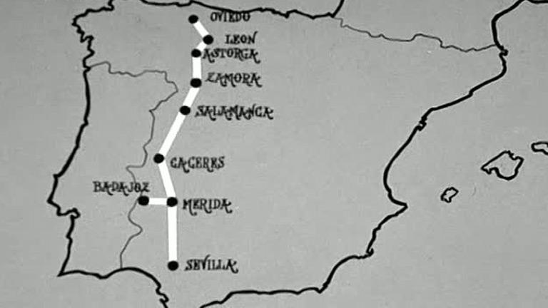 Conozca usted España - La ruta de la plata (1980)