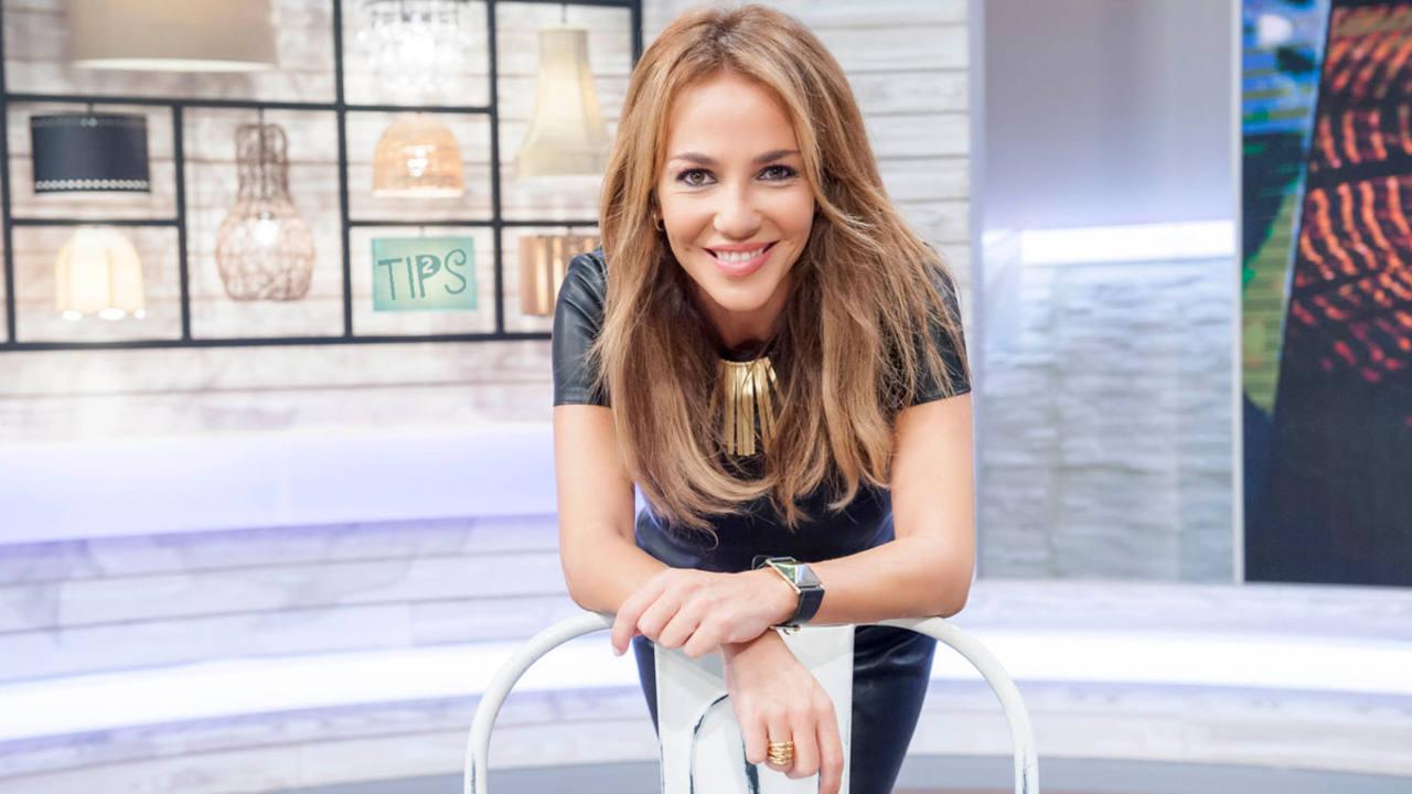 Ruth Jiménez , presentadora de Tips