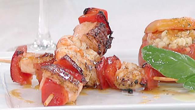Saber cocinar brochetas de mar con tomates rellenos 21 Cocinar ortigas de mar