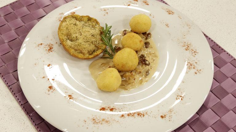Saber cocinar croquetas de jam n cheddar y setas con for Cocinar habas con jamon