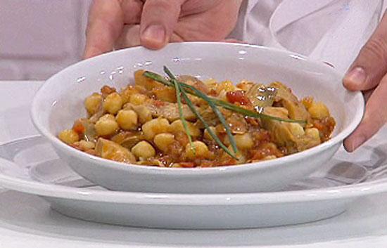 Saber cocinar garbanzos con alcachofas for Cocinar alcachofas