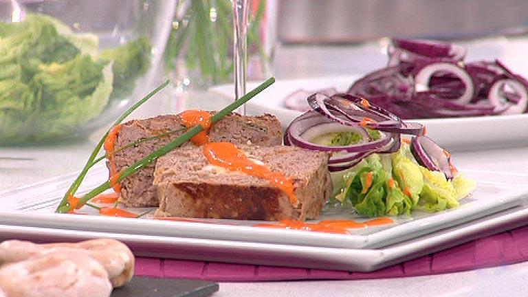 Pastel de ternera con pimientos y huevo duro 20 01 2012 for Cocinar ternera