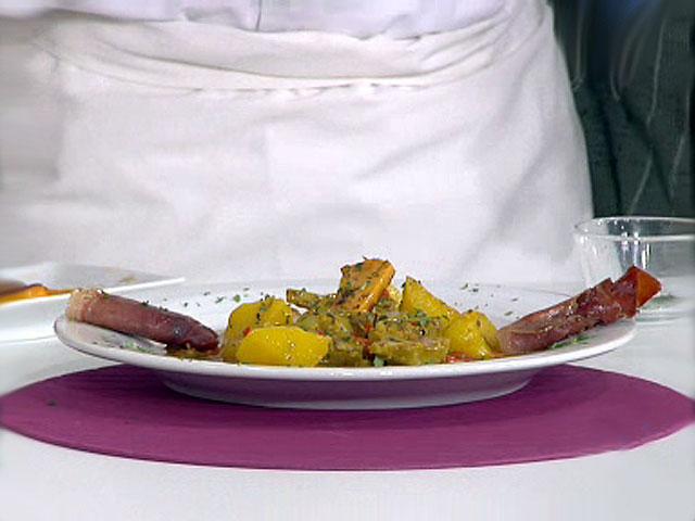 Saber cocinar patatas con alcachofas en salsa verde y for Cocinar alcachofas