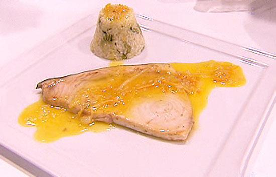 Saber cocinar pez espada con naranja la ma ana rtve for Cocinar pez espada
