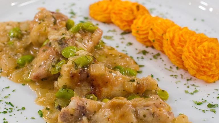 Receta de pollo a las finas hierbas for Cocinar zanahorias