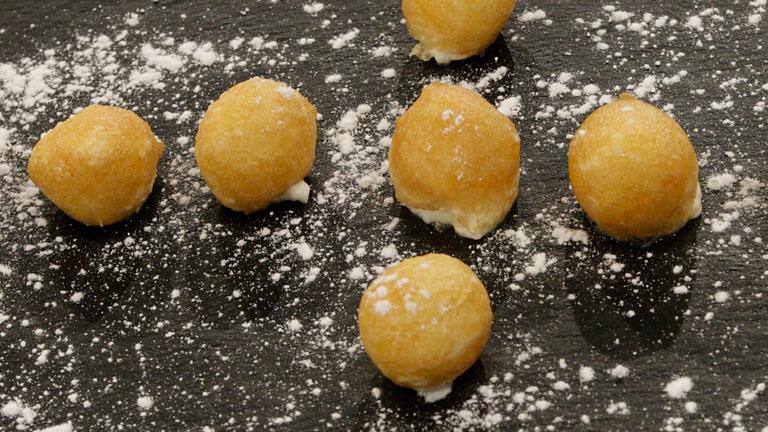 C mo preparar bu uelos de viento con nata - Como hacer nata para cocinar ...