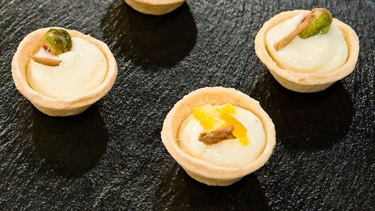 saber cocinar postres tartaletas con crema de yogur