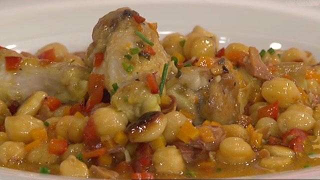 Puchero de pollo con garbanzos 18 04 11 for Cocinar garbanzos