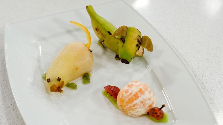 Saber cocinar truco figuritas con frutas for Cocinando con sergio en la1