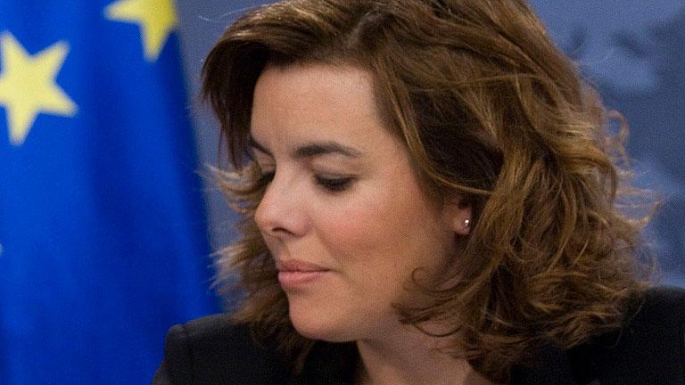 Sáenz de Santamaría: El PP buscará el máximo consenso para elegir al presidente de RTVE