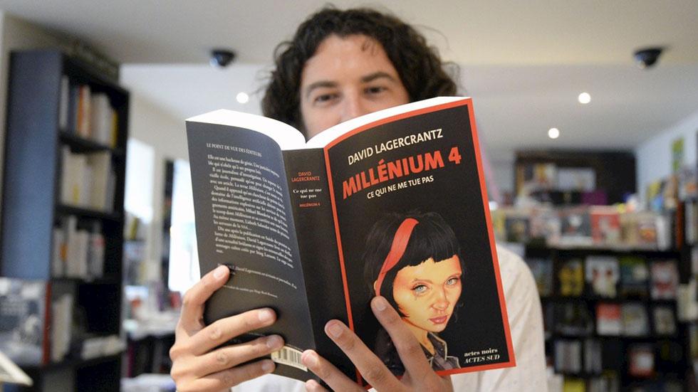 Sale a la venta la cuarta parte de la saga 'Millenium'