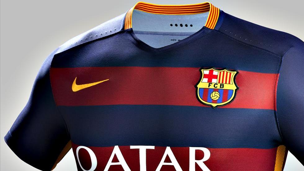 Sale a la venta la nueva camiseta del FC Barcelona