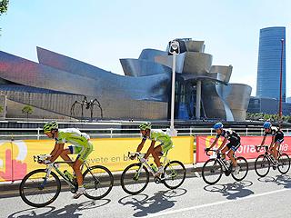 Salida en Bilbao al estilo Tour