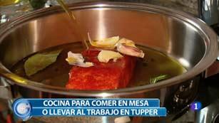 Más Gente - Más Cocina - Salmón con verduras para llevar en el tupper