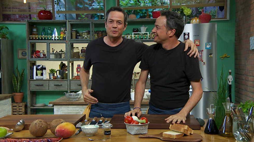 Torres en la cocina - Salmorejo de mango y pasta de quinoa - ver ahora