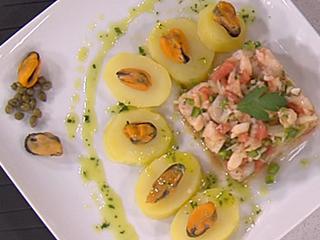Saber cocinar - Salpicón de marisco con patatas (05/05/11)