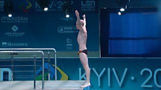 Natación - Saltos 'Campeonato de Europa'. Final 10MT Masculilno desde Kiev (Ucrania)