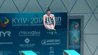 Natación - Saltos 'Campeonato de Europa'. Final 1MT Femenino desde Kiev (Ucrania)