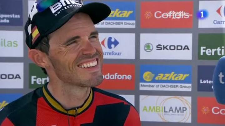 """Samuel Sánchez: """"El equipo me ha dejado la Vuelta"""""""