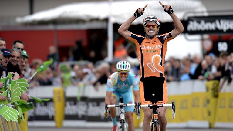 Samuel Sánchez gana la etapa en la Dauphiné