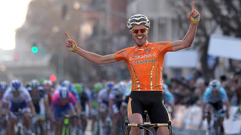 Samuel Sánchez gana la sexta etapa de la Volta
