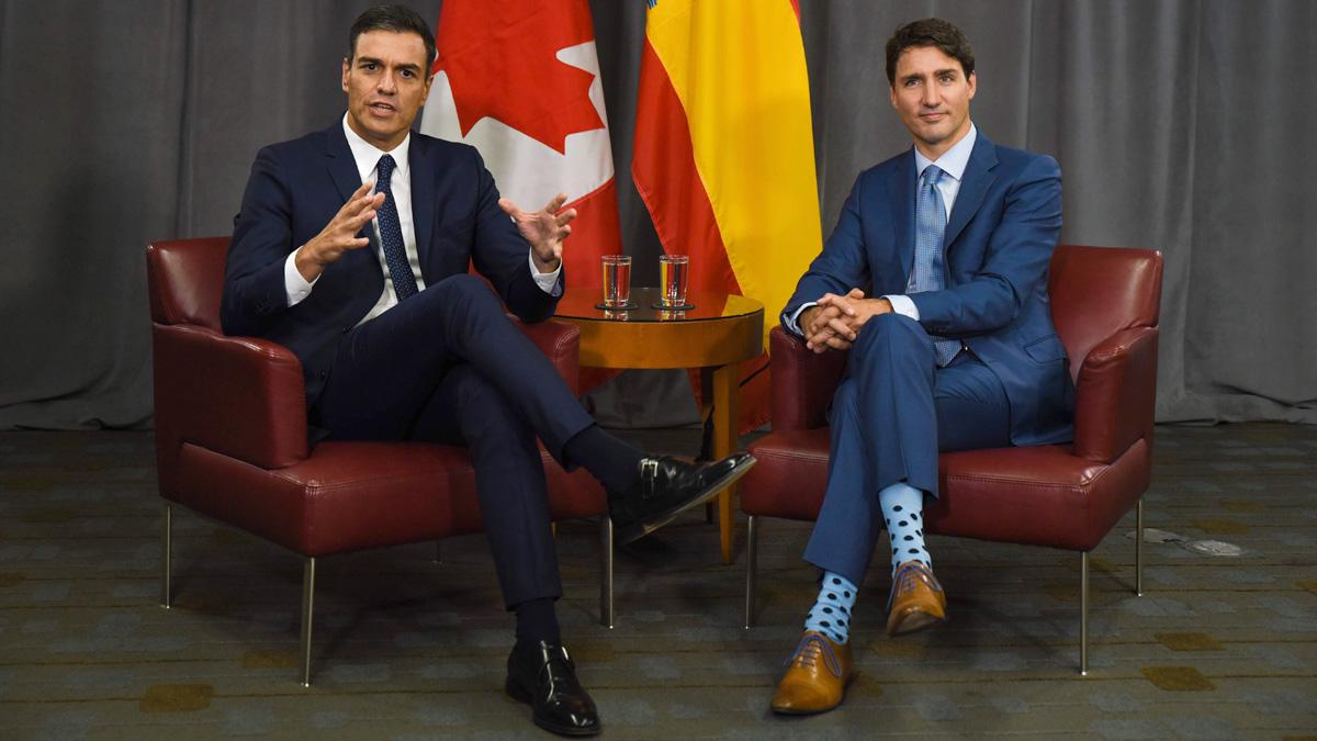 Ir al VideoSánchez apuesta por la vía política para solucionar el conflicto en Cataluña y pone de ejemplo a Quebec