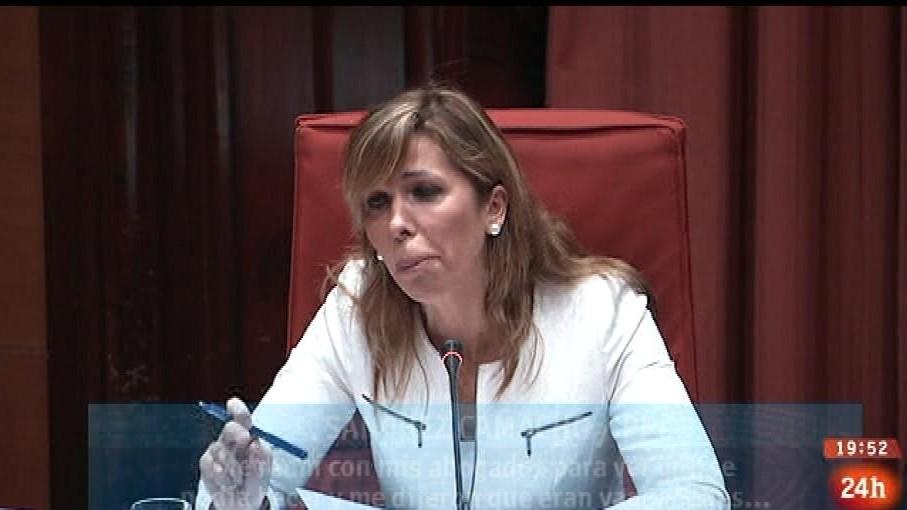 Parlamento - Otros parlamentos - Sánchez-Camacho declara en el Parlament - 11/04/2015