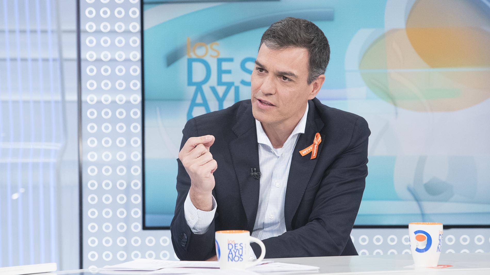 """Ir al VideoSánchez: """"En días como hoy es difícil continuar confiando en el goboerno para resolver la crisis catalana"""""""