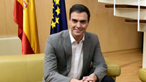 Sánchez no descarta un gobierno en coalición y asegura que está abierto al diálogo